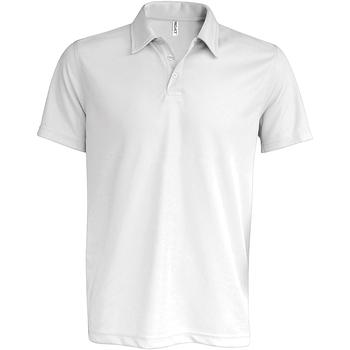 Vêtements Homme Polos manches courtes Kariban Proact Performance Blanc
