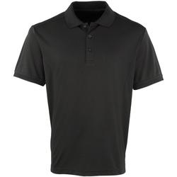 Vêtements Homme Polos manches courtes Premier Coolchecker Noir
