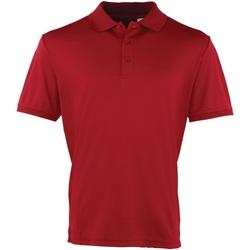 Vêtements Homme Polos manches courtes Premier Coolchecker Bordeaux