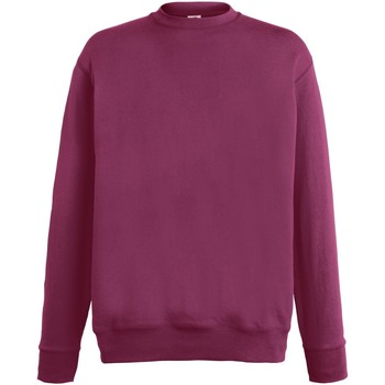 Vêtements Homme Sweats Fruit Of The Loom SS926 Bordeaux
