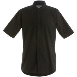 Vêtements Homme Chemises manches courtes Kustom Kit KK160 Noir