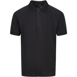 Vêtements Homme Polos manches courtes Regatta RG524 Noir