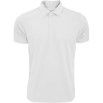 Vêtements Homme Polos manches courtes Fruit Of The Loom Performance Blanc