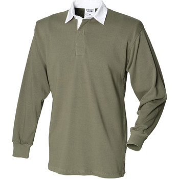 Vêtements Homme Polos manches longues Front Row Rugby Olive