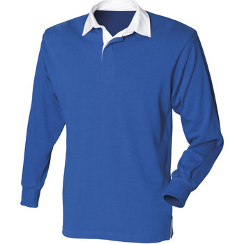 Vêtements Homme Polos manches longues Front Row Rugby Bleu roi