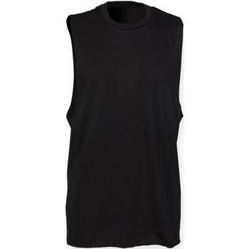 Vêtements Homme Débardeurs / T-shirts sans manche Skinni Fit High Neck Noir