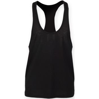 Vêtements Homme Débardeurs / T-shirts sans manche Skinni Fit SF236 Noir