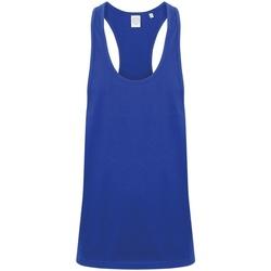 Vêtements Homme Débardeurs / T-shirts sans manche Skinni Fit SF236 Bleu roi