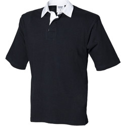 Vêtements Homme Polos manches courtes Front Row Rugby Noir