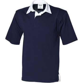 Vêtements Homme Polos manches courtes Front Row Rugby Bleu marine