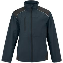 Vêtements Homme Coupes vent B And C Softshell Bleu marine