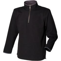 Vêtements Homme Polaires Front Row Soft Touch Noir