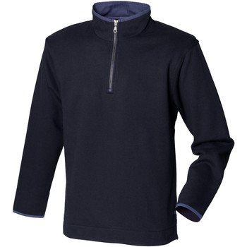 Vêtements Homme Polaires Front Row Soft Touch Bleu marine