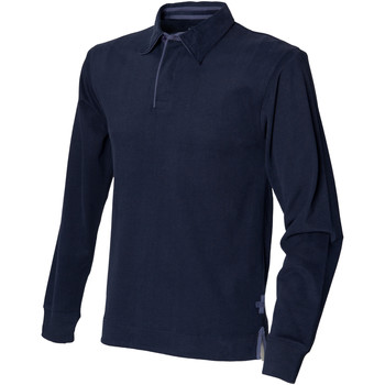 Vêtements Homme Polos manches longues Front Row Rugby Bleu marine
