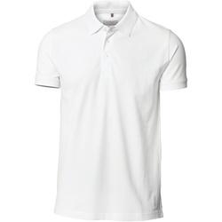Vêtements Homme Polos manches courtes Nimbus Stretch Blanc