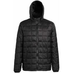 Vêtements Homme Doudounes 2786 Hooded Noir