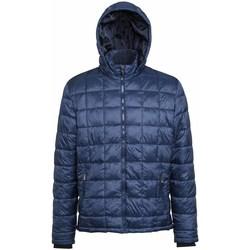 Vêtements Homme Doudounes 2786 Hooded Bleu marine