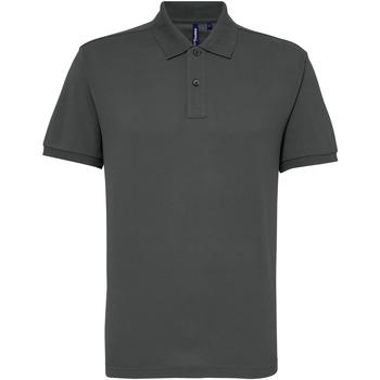 Vêtements Homme Polos manches courtes Asquith & Fox Performance Gris foncé