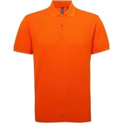 Vêtements Homme Polos manches courtes Asquith & Fox Performance Orange