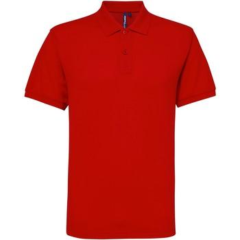 Vêtements Homme Polos manches courtes Toutes les chaussures femme Performance Rouge
