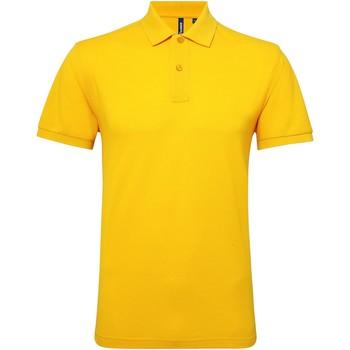 Vêtements Homme Polos manches courtes Asquith & Fox Performance Tournesol