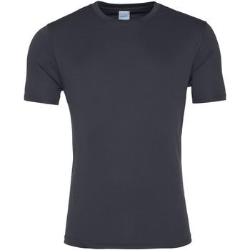 Vêtements Homme T-shirts manches courtes Awdis JC020 Gris foncé