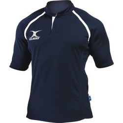 Vêtements Homme T-shirts manches courtes Gilbert Xact Bleu marine