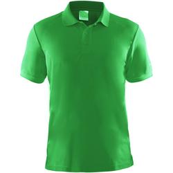 Vêtements Homme Polos manches courtes Craft Pique Vert