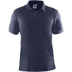 Vêtements Homme Polos manches courtes Craft Pique Bleu marine