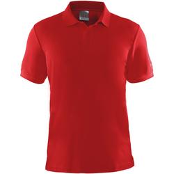 Vêtements Homme Polos manches courtes Craft Pique Rouge