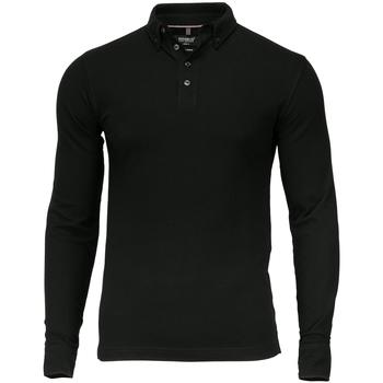 Vêtements Homme Polos manches longues Nimbus Carlington Noir