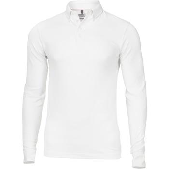 Vêtements Homme Polos manches longues Nimbus Carlington Blanc
