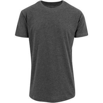 Vêtements Homme T-shirts manches courtes Build Your Brand Shaped Gris foncé