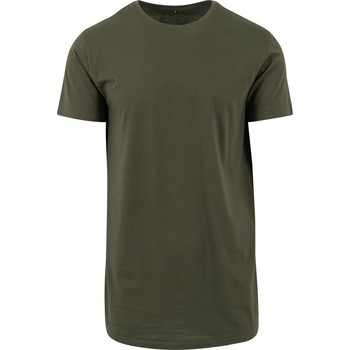 Vêtements Homme T-shirts manches courtes Build Your Brand Shaped Olive
