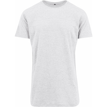 Vêtements Homme T-shirts manches courtes Build Your Brand Shaped Blanc