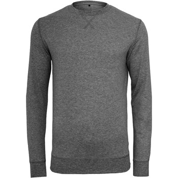 Vêtements Homme Pulls Build Your Brand BY010 Gris foncé