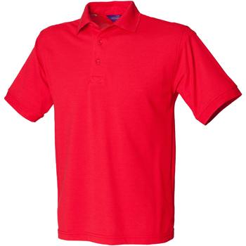 Vêtements Homme Polos manches courtes Henbury HB400 Rouge