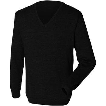 Vêtements Homme Pulls Henbury 12 Gauge Noir