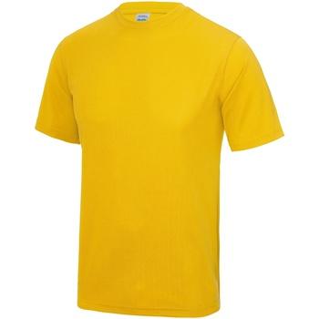 Vêtements Homme T-shirts manches courtes Awdis Performance Or