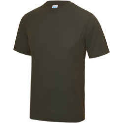 Vêtements Homme T-shirts manches courtes Just Cool Performance Olive