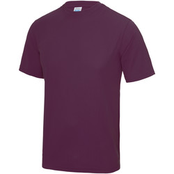 Vêtements Homme T-shirts manches courtes Just Cool Performance Prune