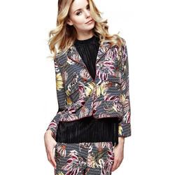 Vêtements Femme Vestes Guess Veste Femme Wax Florale Geometrique Multicolore