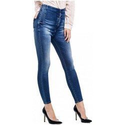 Vêtements Femme Jeans slim Guess Jeans Femme New bonny Bleu Bleu
