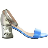 Chaussures Femme Sandales et Nu-pieds MTNG 50719 GOLDEN Gris