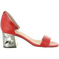 Chaussures Femme Sandales et Nu-pieds MTNG 50719 GOLDEN Rojo