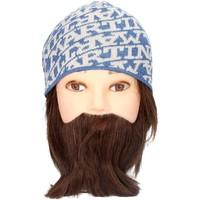 Accessoires textile Homme Bonnets La Martina CAP 01429 Bonnets Homme Beige/Bleu Beige/Bleu