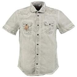 Vêtements Garçon Chemises manches courtes Petrol Industries M-SS15-SHS401 Gris