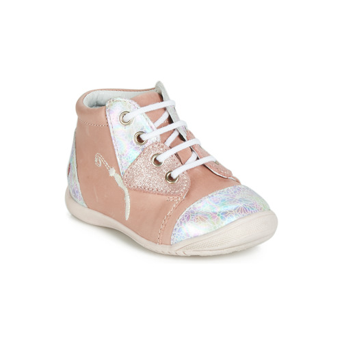 Baskets Gbb Chaussures Montantes Verona Fille Rose 3cLq45ARj