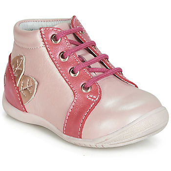 Chaussures Fille Baskets montantes GBB FRANCKIE Rose