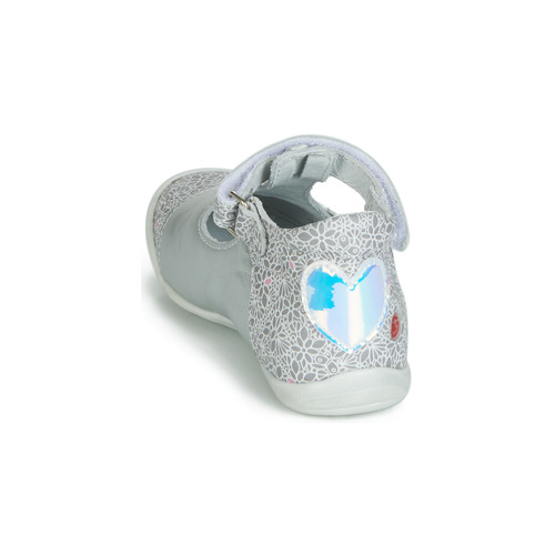 Argenté Gbb Merca BallerinesBabies Chaussures Fille wP8On0k